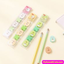 Kawaii Pencil Erasers