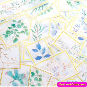 Plants Leaf Stickers