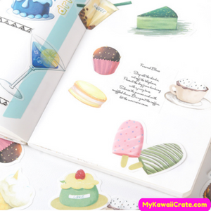 Sweet Desserts Stickers