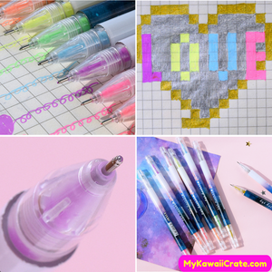 Colorful Writing Accessories