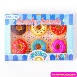 Novelty Donut Pencil Eraser