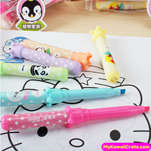 6 Pc Set Cute Kawaii Cartoon Animals Pocket Size Highlighters