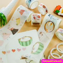 Funny Cats Washi Tapes