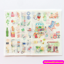 A Joyful Life Zakka Stickers ~ 6 Sheets Set