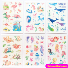 Fairy Tale World Decorative Stickers ~ 6 Sheets