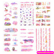 Pretty Flowers Stickers