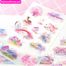 Sakura Scenery Stickers