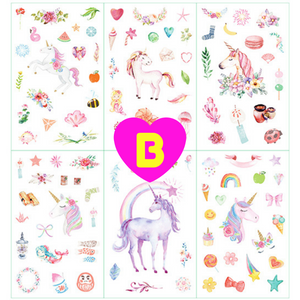Unicorn Tales Decorative Stickers