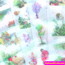 Secret Garden Decorative Stickers 6 Sheets Set