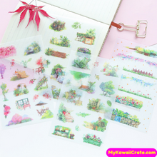 luscious plants stickers