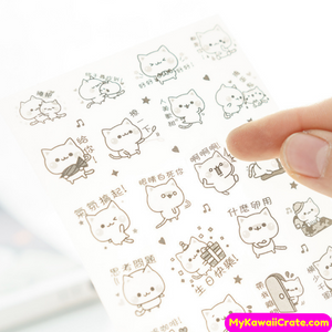 Kawaii Cat Stickers