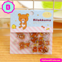 Cute Rilakkuma Decorative Mini Stickers