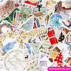 A Christmas Story Gilding Decorative Stickers