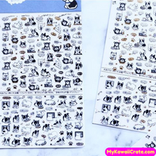 A Day in the Life of a Dog Stickers