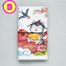 Cute Kawaii Soft Cover Animal Illustration Planner Journal