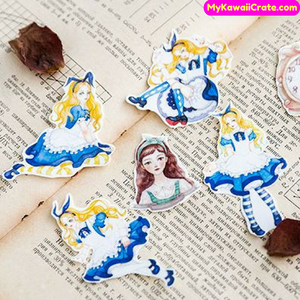 Alice in Wonderland Washi Tape / Masking Tape