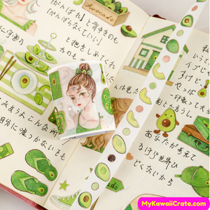 Avocado Washi Tape