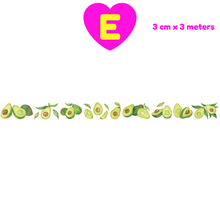 Avocado Season Girls Washi Tape