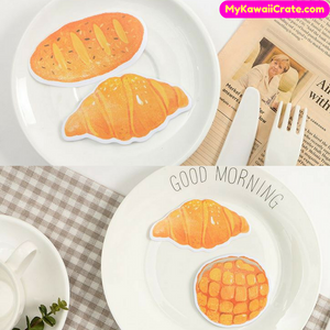 Bakery Pastry Croissant Bread Sticky Notes