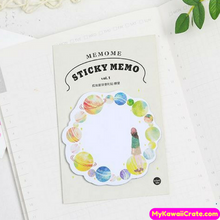 Beautiful Solar System Planets Sticky Notes
