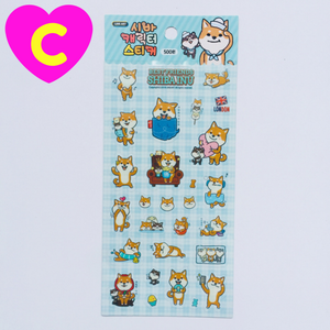 adorable dog stickers