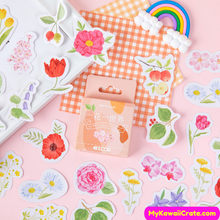 Blooming Flowers Stickers