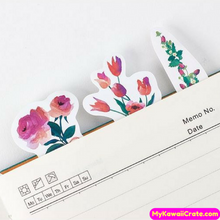 45 Pc Kawaii Blooming Flowers Decorative Sticker Pack