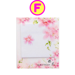 Blooming Sakura Cherry Blossom Flowers Sticky Notes