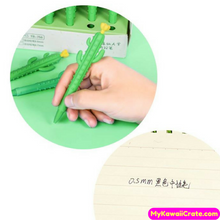 Kawaii Cactus with Flower Mechanical Pencil