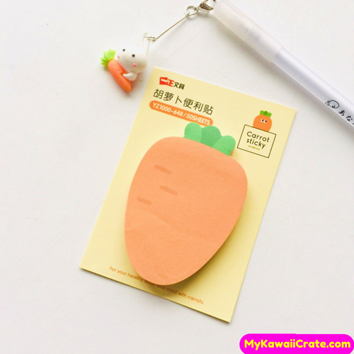 Carrot Sticky Notes