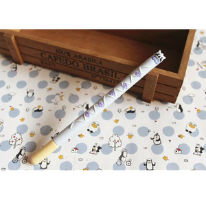 Chocolate Biscuit Scented Cartoon Animal Gel Pen