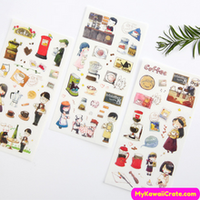 Cartoon Children Stickers