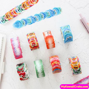 Colorful Flower Masking Tape