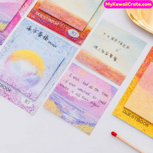 Colorful Oil Painting Style Sticky Notes