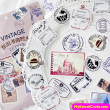 Vintage Style Stickers