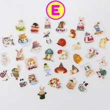 Colorful Zakka Life Decorative Sticker Pack ~ Various Cute Designs