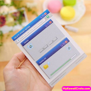 Computer System Error Sticky Notes ~ Funny Self Adhesive Memo Pad