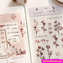 Cotton Flower Stickers