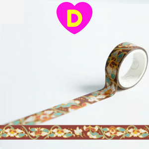 Creative Elegant Style Gilding Washi Tapes