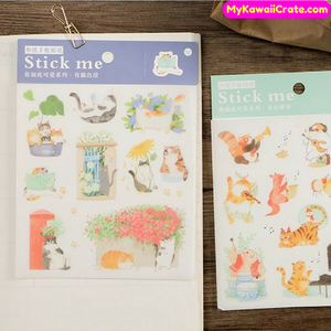 Animals Playing Stickers