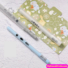 Cute Cat Paw Fishbone Gel Pen