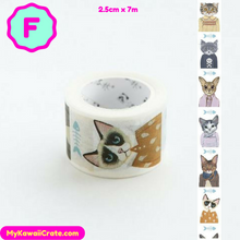Cute Cat Style Fashion Washi Tape / Masking Tape