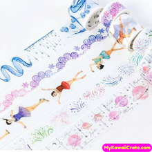 Cute Ice Waltz Ballerina Washi Tape / Masking Tape