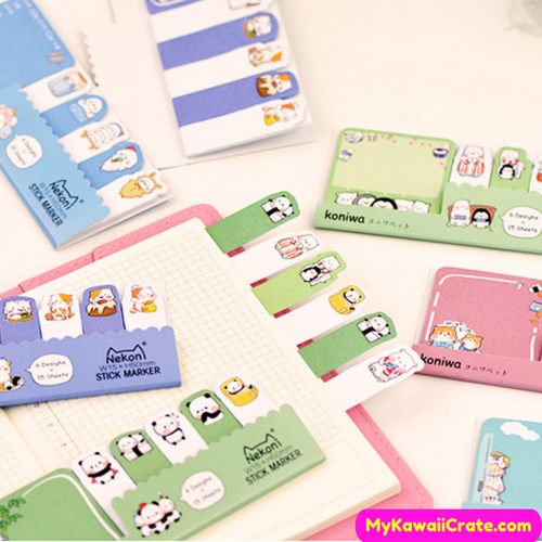 Kawaii Sticky Notes