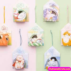 Cartoon Animals Washi Tapes