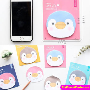 Cute Little Penguin Sticky Notes