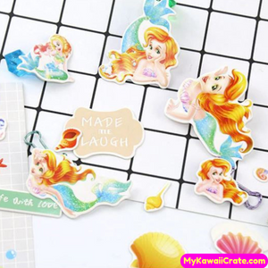 Cute Mermaid Decorative Stickers
