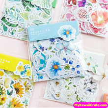 Colorful Daylight Flowers Decorative Sticker Pack
