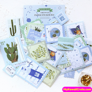 Plants Stamp Stickers