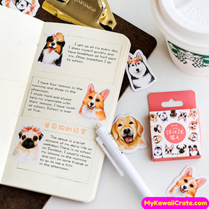 Dog Planner Stickers